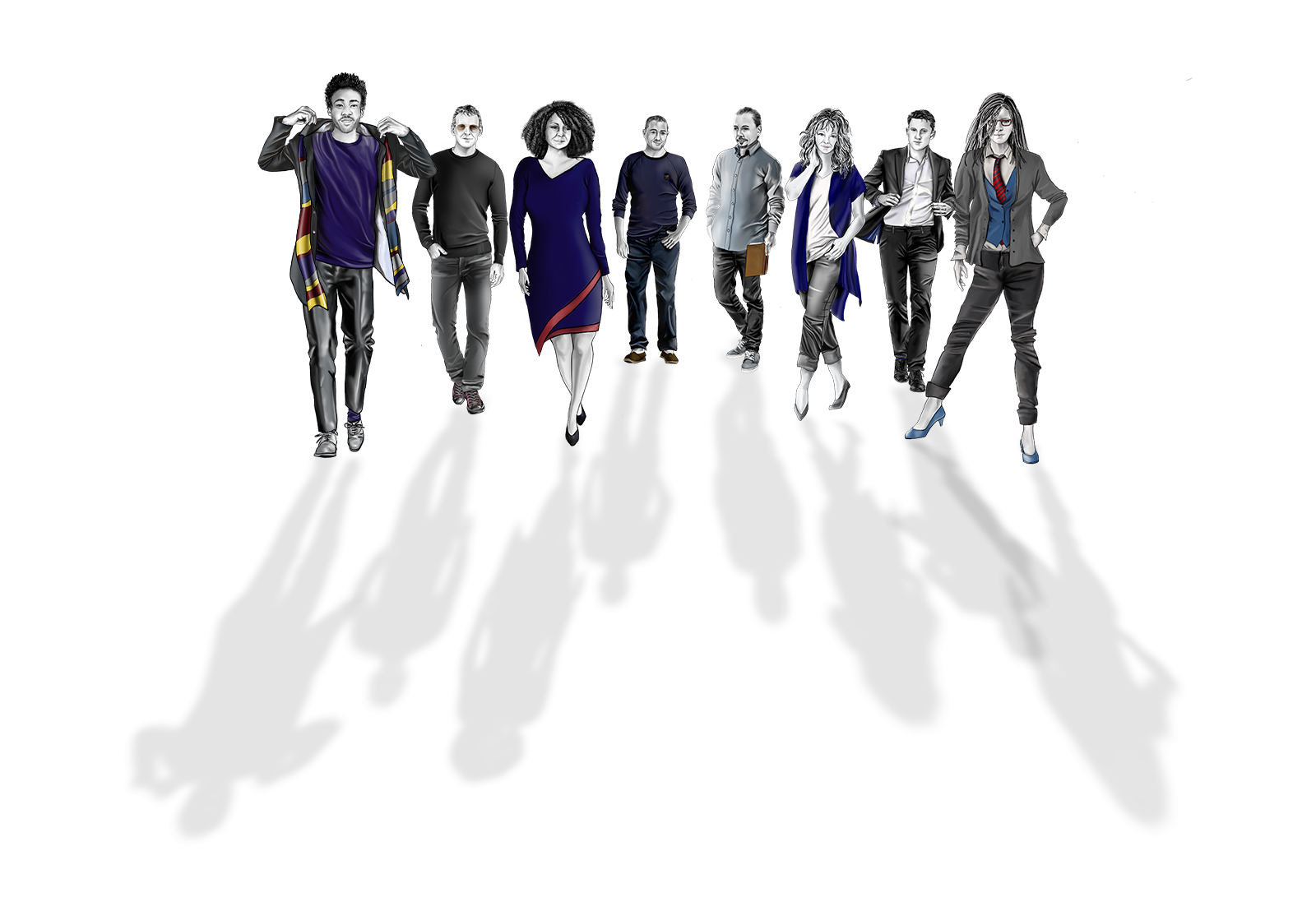 A final glimpse at the Cast of Characters.